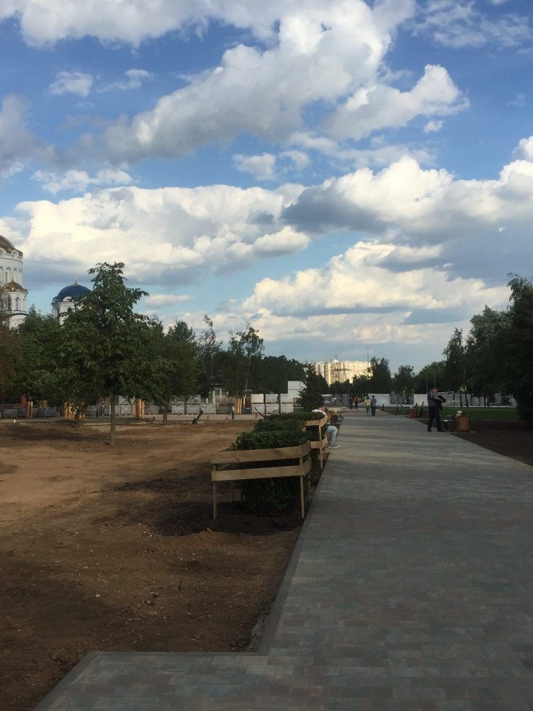 Парк Света благоустройство озеленение Бибирево Мой район
