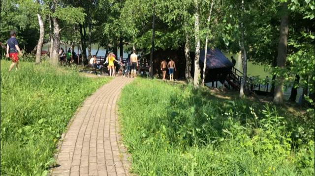 зона отдыха Тропарево пруд