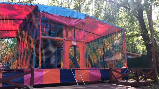 зона отдыха Тропарево детские спортивные площадки