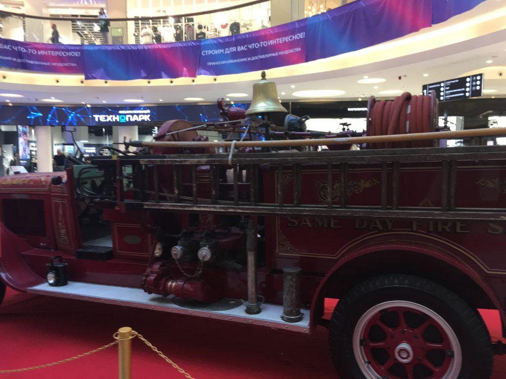 выставка пожарной ретро-техники ретро-автомобили