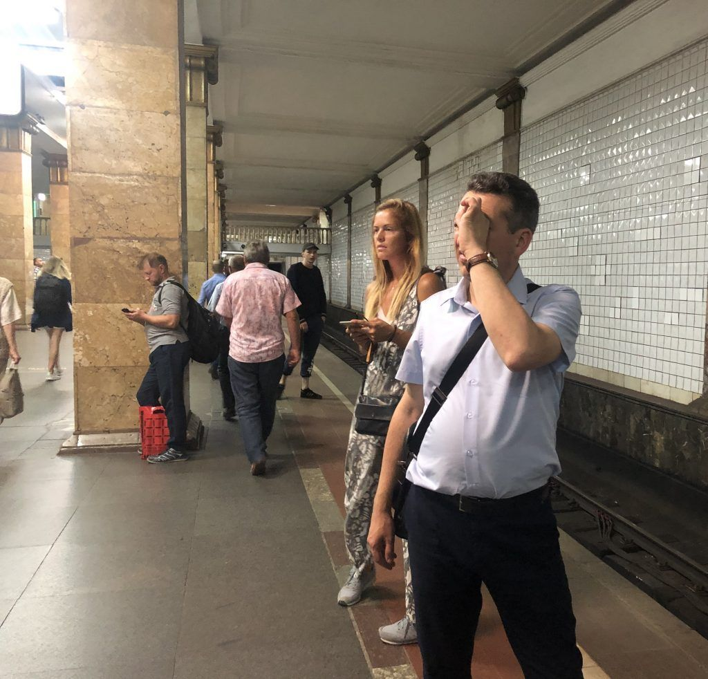 метро Парк Культуры театр зрители
