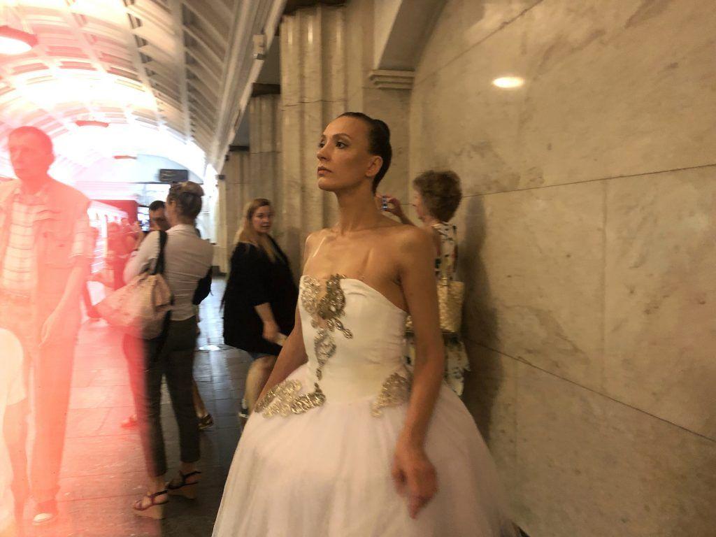 театр метро Охотный ряд балерина