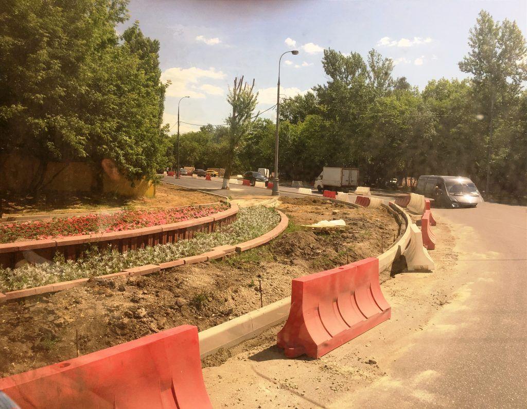 реконструкция дорог благоустройство Капотня