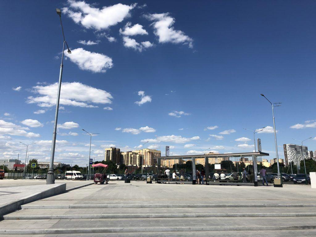 метро Коммунарка благоустройство территории