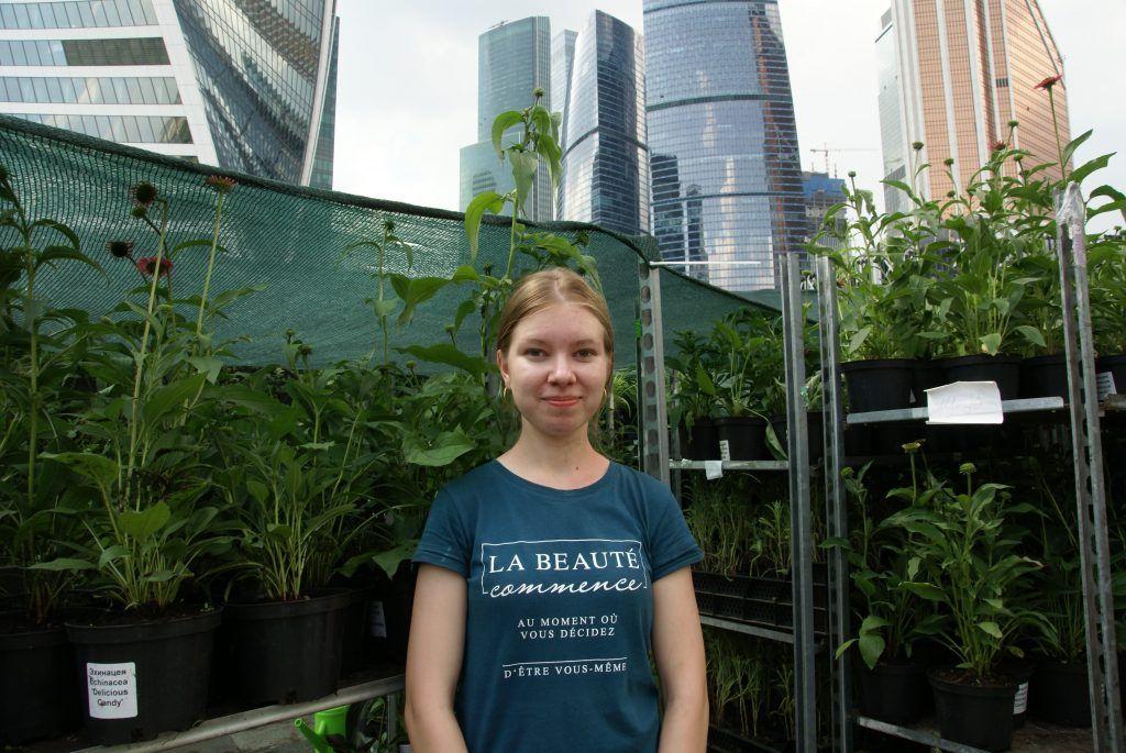 фестиваль Цветочный джем Москва-сити растения цветы
