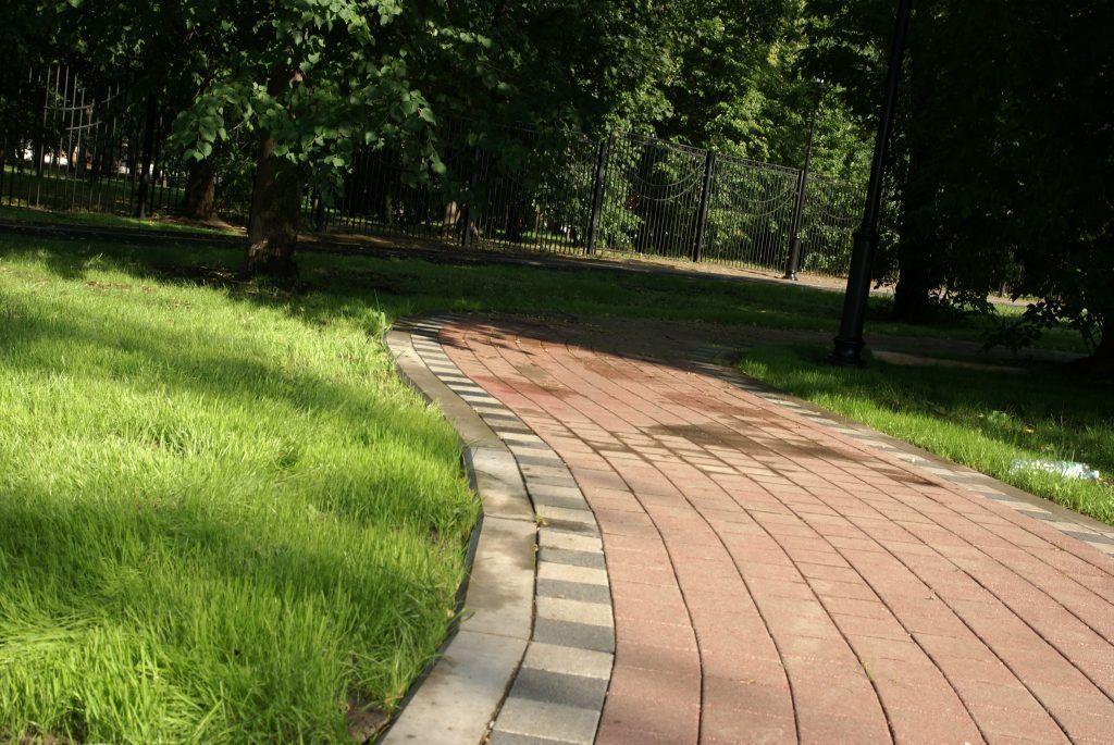 Детский Черкизовский парк благоустройство дорожки