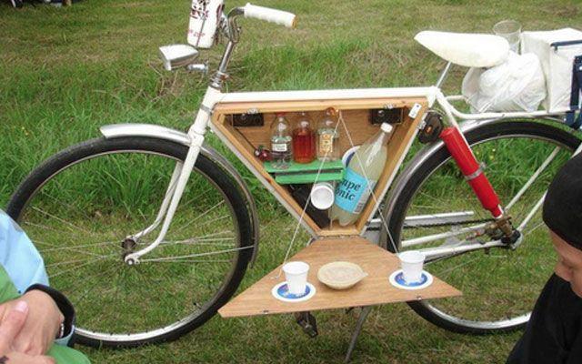 Пикник лето в Москве велосипед