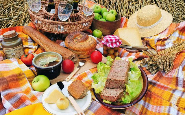 Пикник лето в Москве