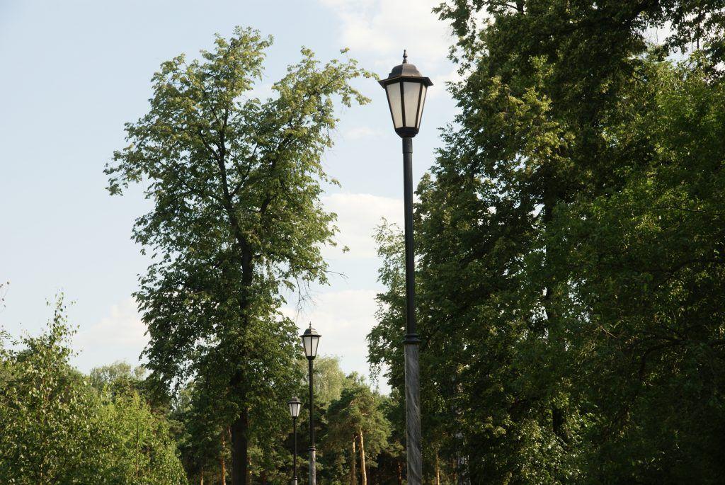Детский Черкизовский парк благоустройство фонари