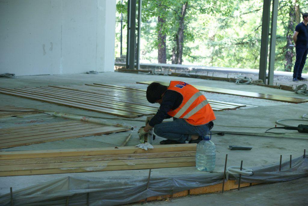 усадьба Люблино благоустройство и озеленение парка «Усадьба Люблино» строительство