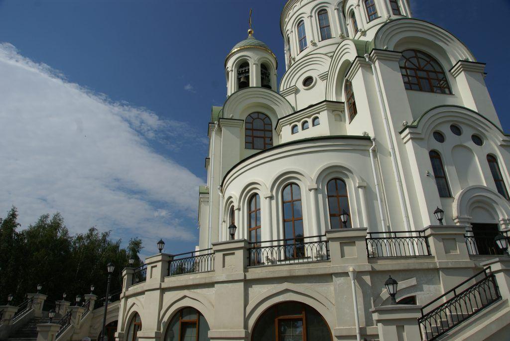 Солнцево Большой Солнцевский пруд благоустройство Центральный парк церковь