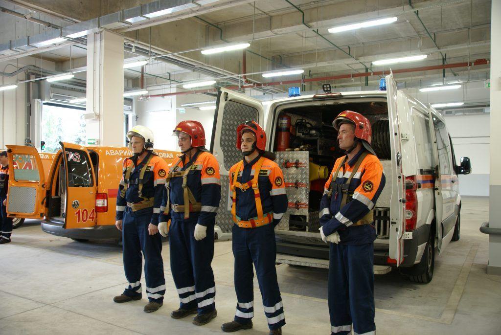 Служба аварийно-спасательного формирования ОА Мосгаз