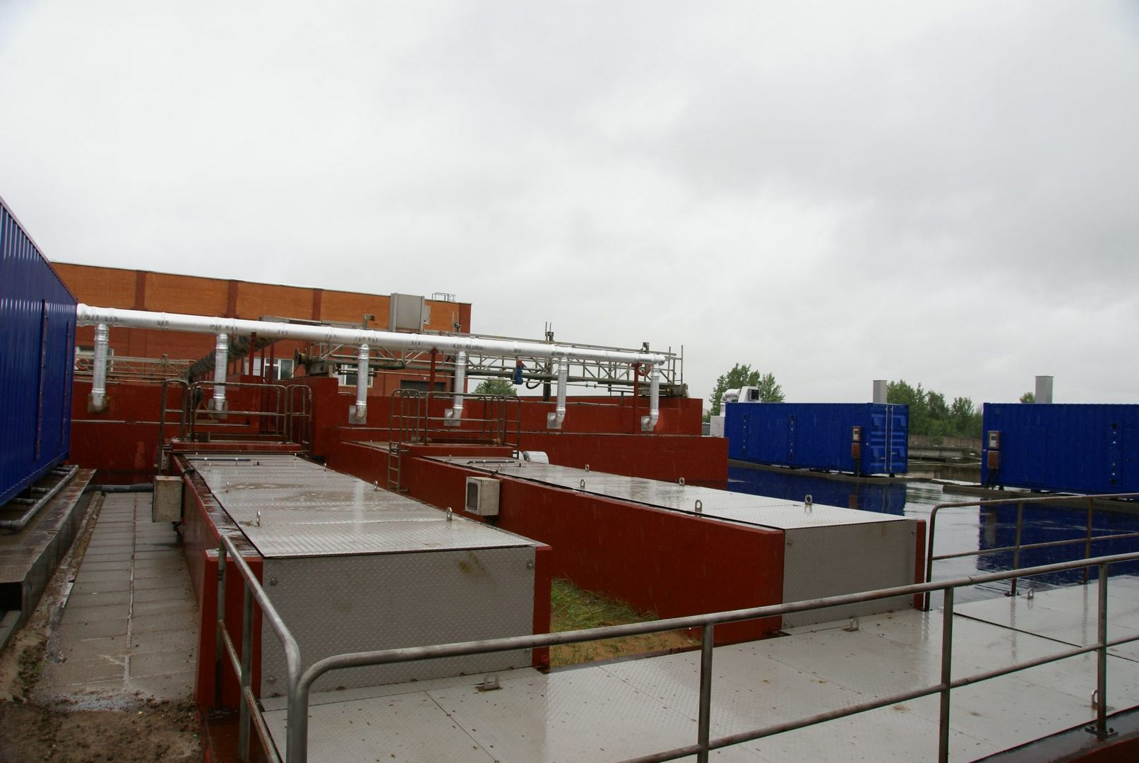 Зеленоградский очистные сооружения.