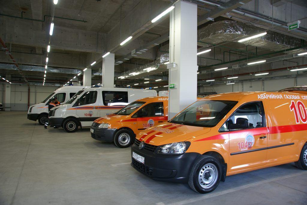 В гараже ОА Мосгаз