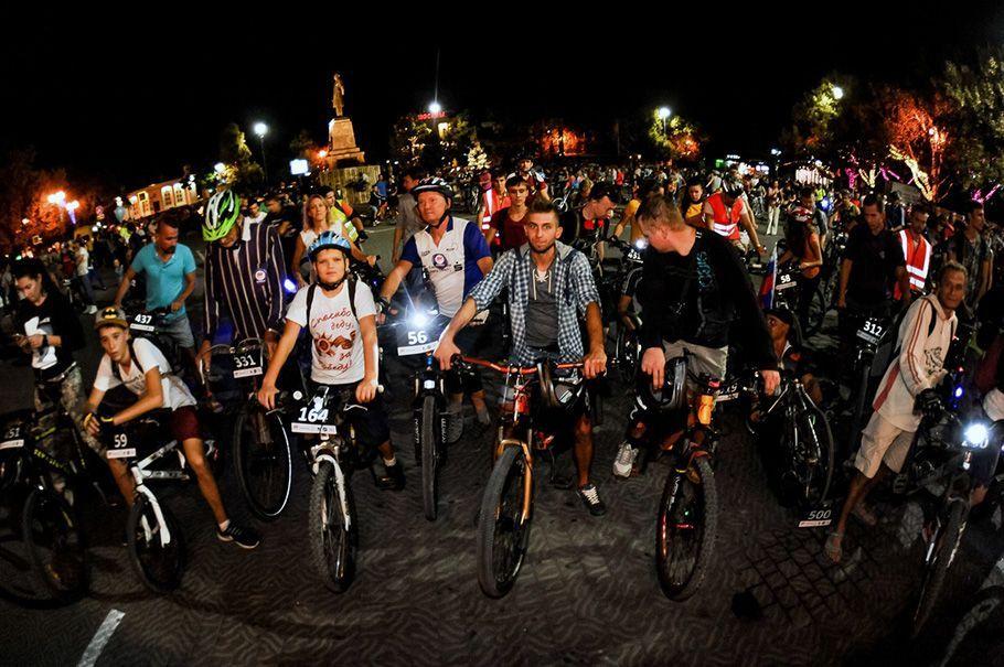 Велоночь велосипеды