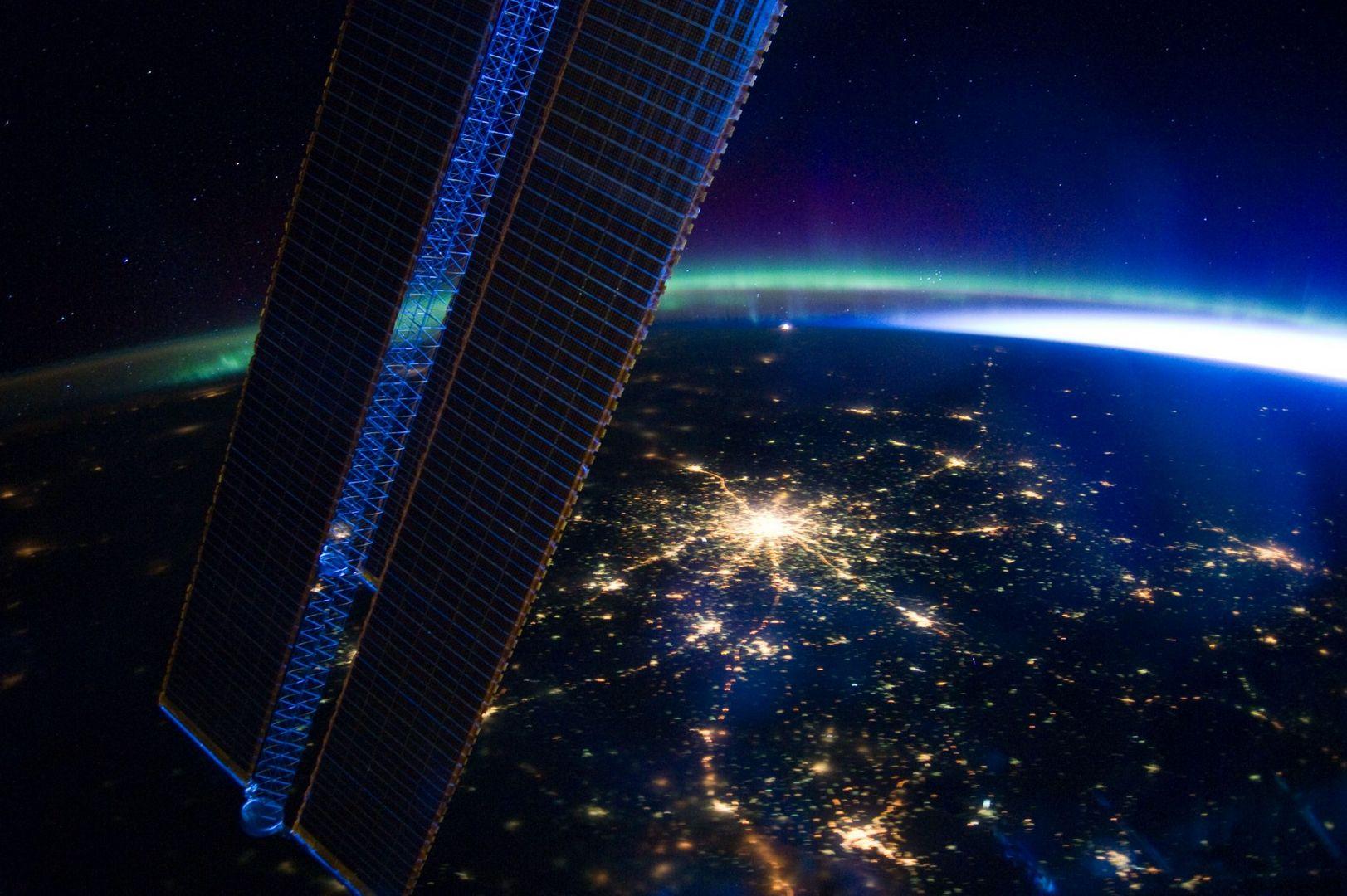 Вид на Москву из космоса