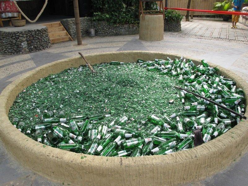 мусор стекло