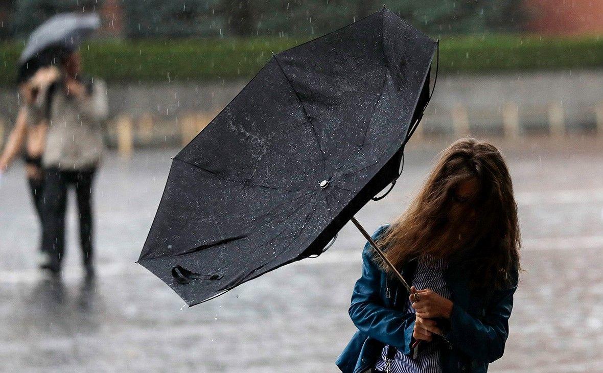погода в Москве дождь
