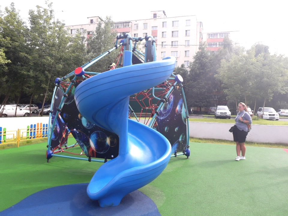 благоустройство, Коньково, детская площадка, резиновое покрытие