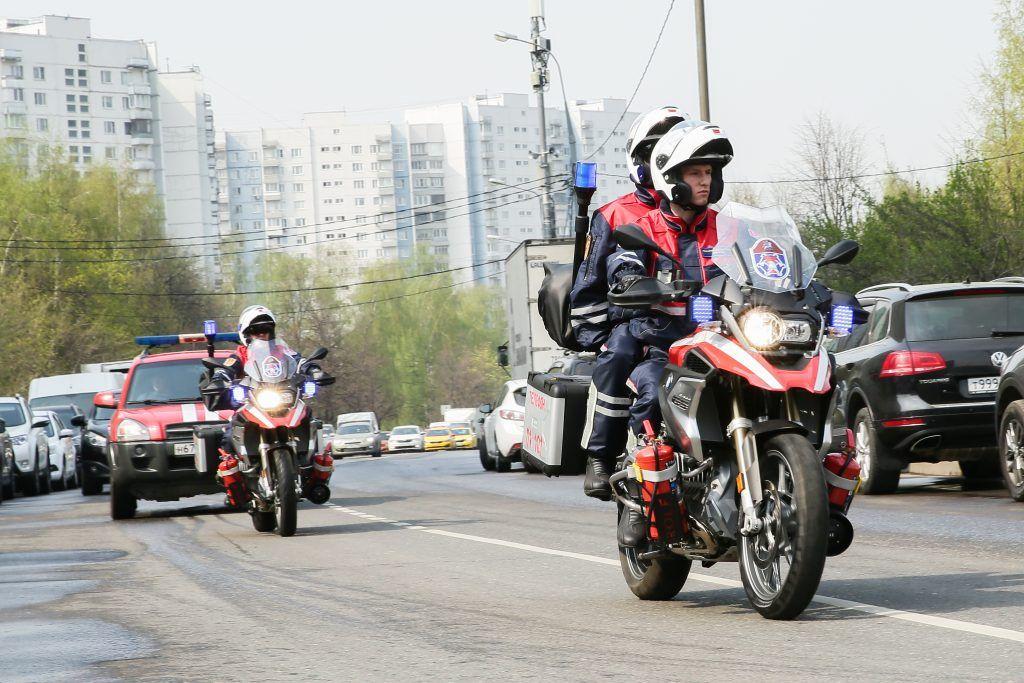 мотоциклы, спасатели