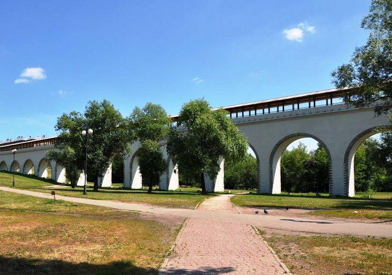 Сквер у Алексеевского акведука