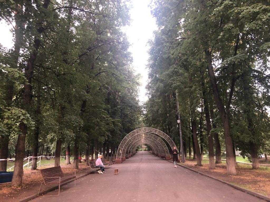 парк Красная Пресня аллея