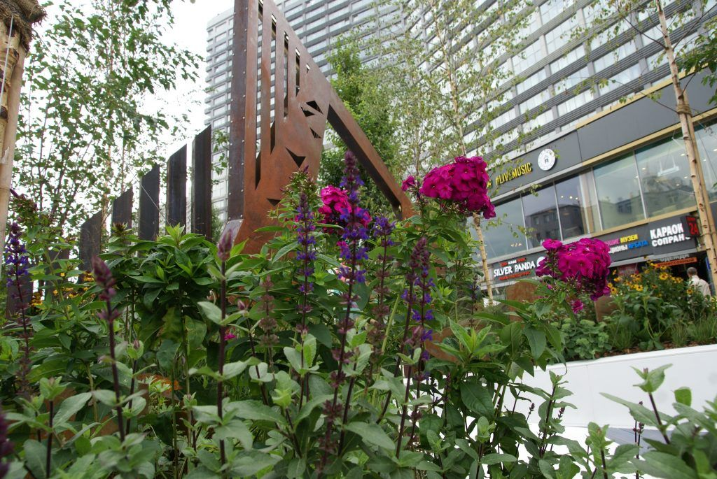 фестиваль Цветочный джем сад Оригами