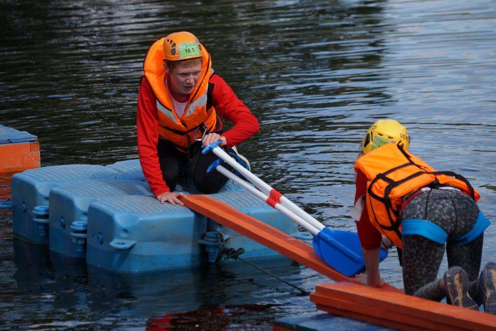школа безопасности, Апаринки, соревнования, спасатели, река, спасение