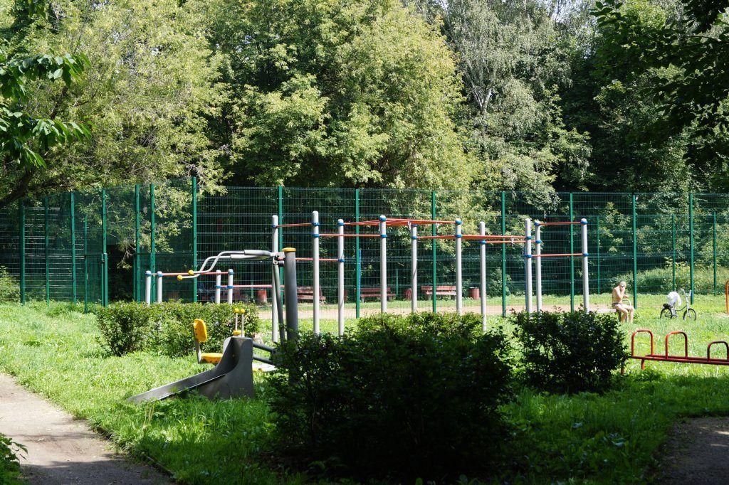Спортивные площадки, Кусковский лесопарк, Кусково