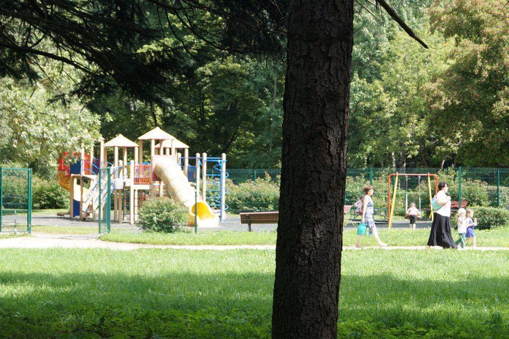 детская площадка, Кусковский лесопарк, Кусково