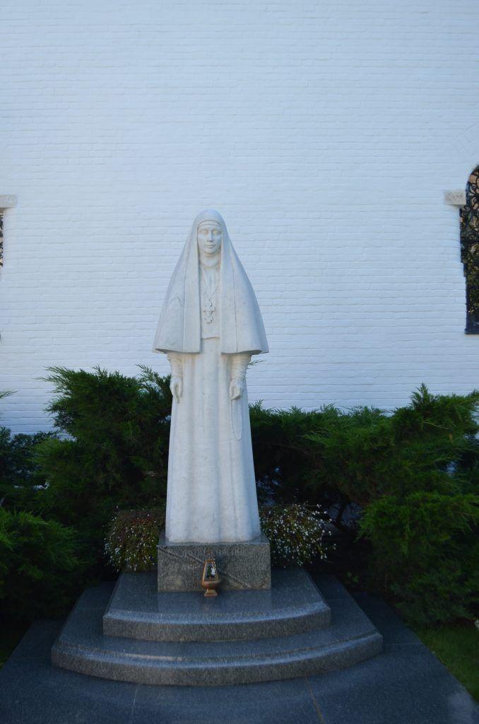 памятник Елизавете Федоровне Романовой, Марфо-Мариинская обитель