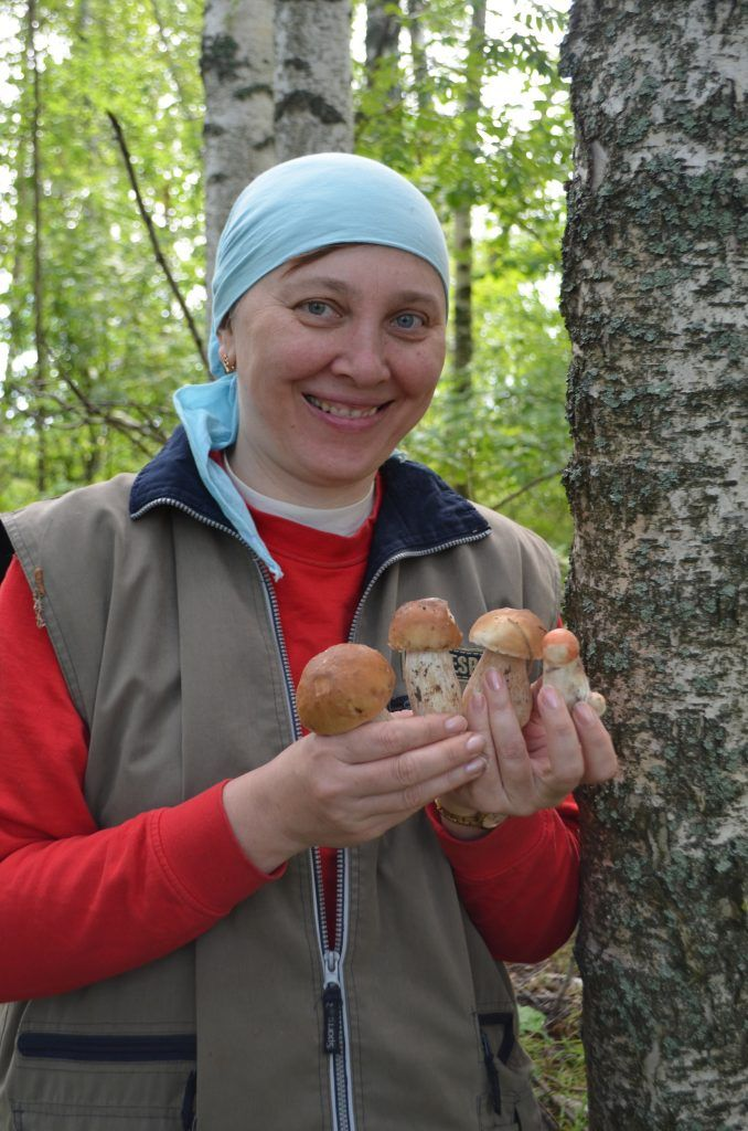 Акилина Федорова грибы