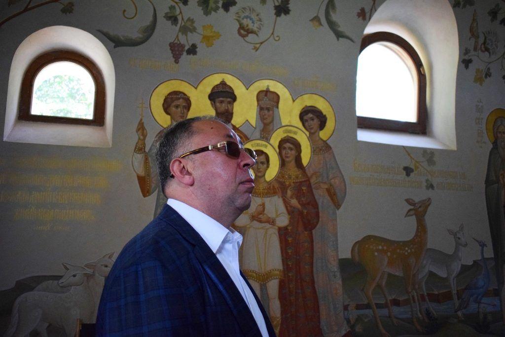 директор ГУП «Москоллектор» Яков Ротмистров, Марфо-Мариинская обитель, благоустройство