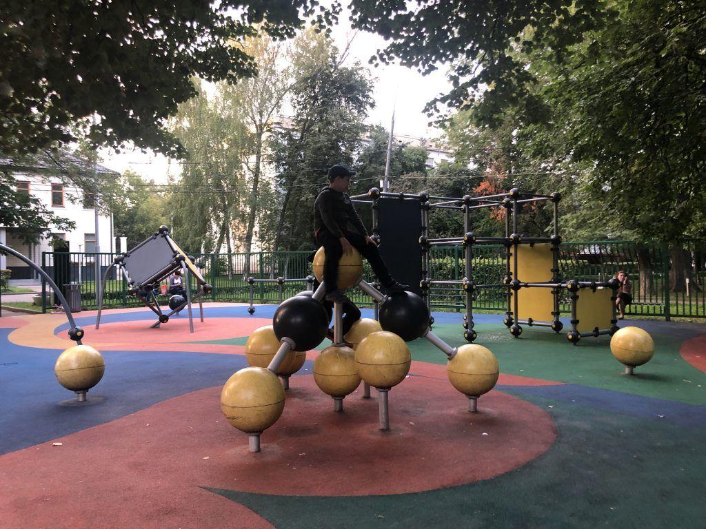 Детская площадка парка «Красная Пресня»1