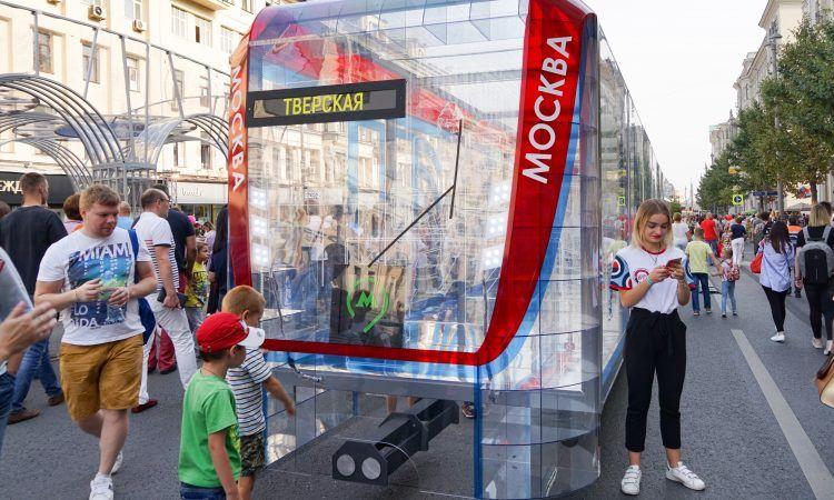 день города, украшение Москвы