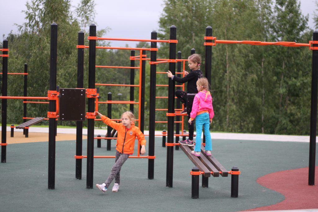 спортивная площадка, благоустройство