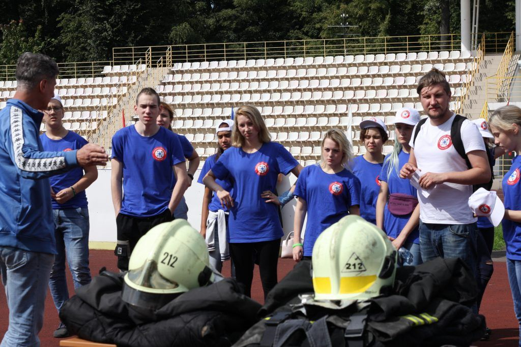 Апаринки, спасатели, помощники спасателей, Центр занятости «Моя карьера»