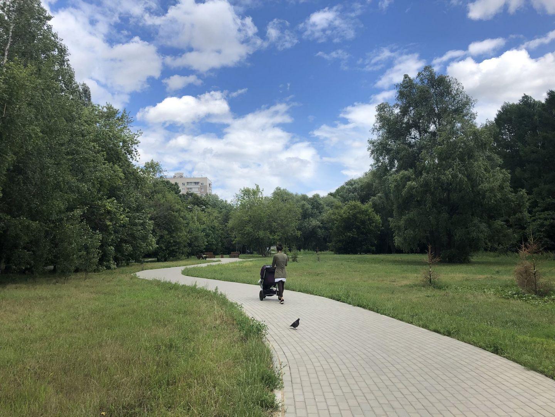 коляска, Сквер Молодожёнов