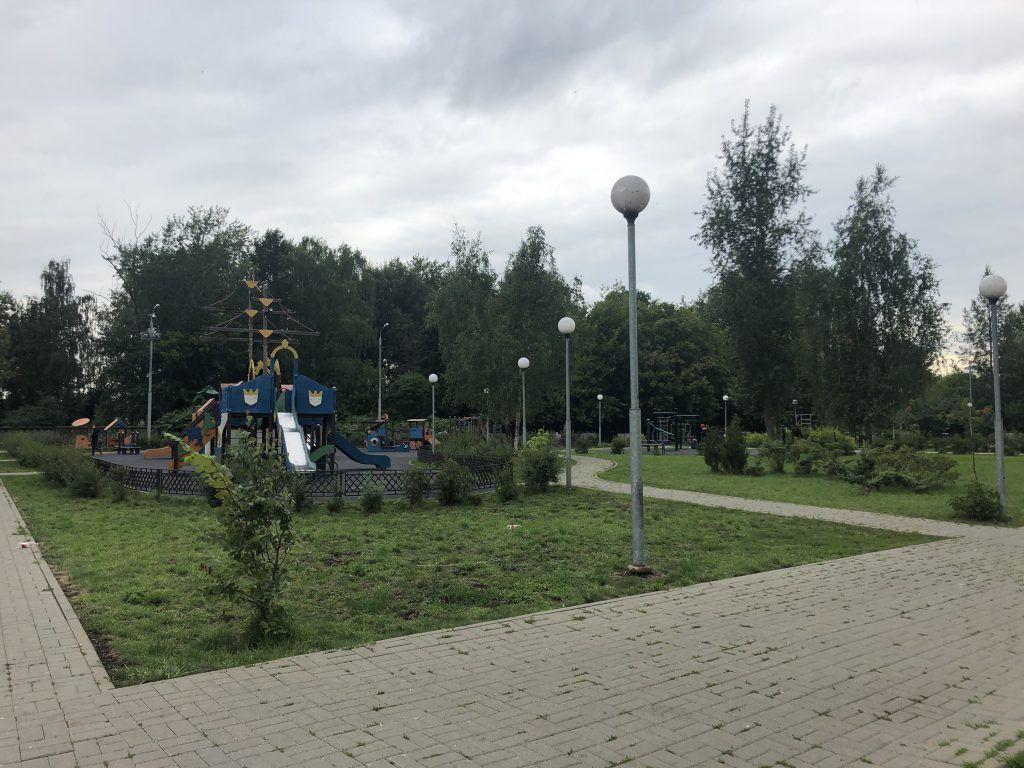 благоустройство Капотня детская площадка