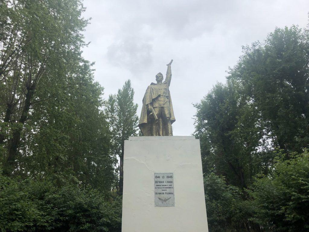 благоустройство Капотня памятник