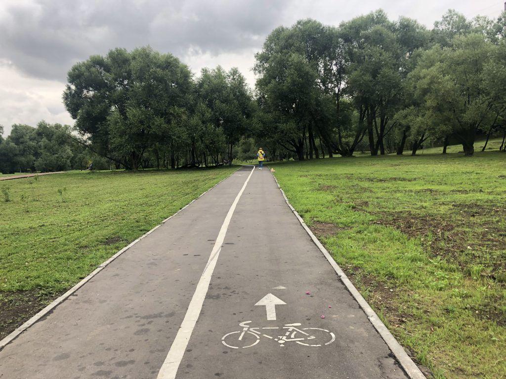 благоустройство Капотня велосипедные дорожки