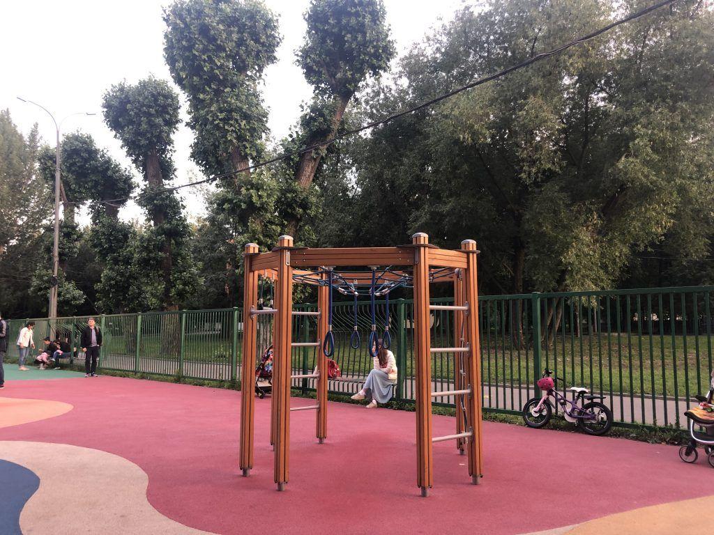 Детская площадка парка «Красная Пресня»