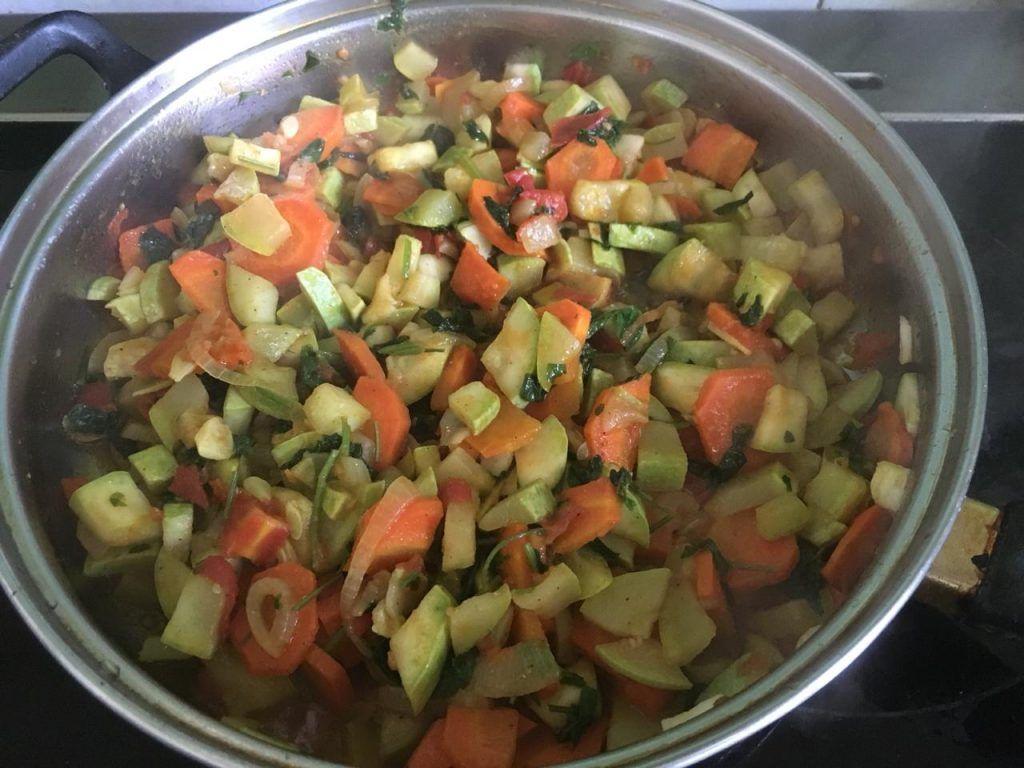 кабачки, овощи, овощное рагу, лето