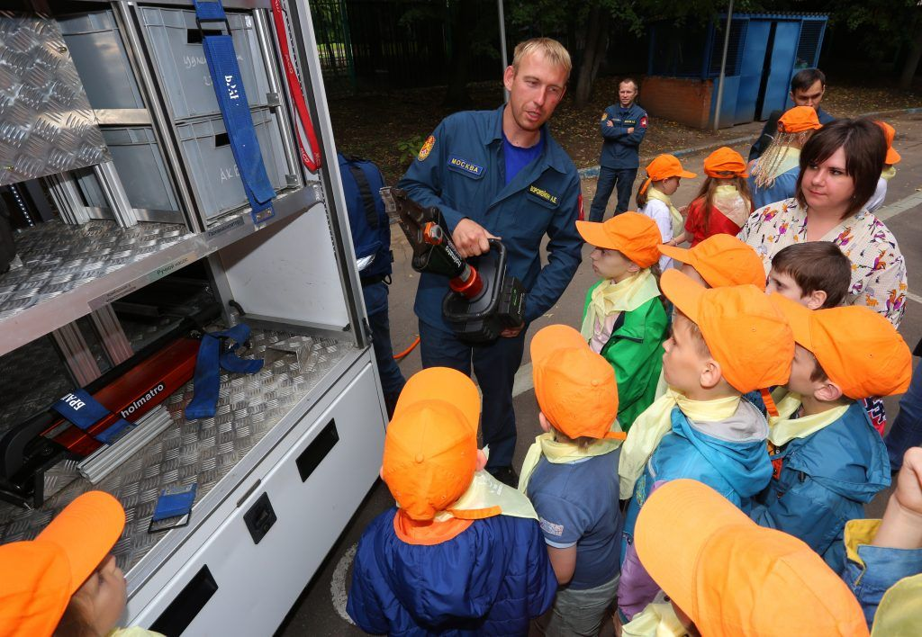 Центр поддержки семьи и детства «Зюзино» Спасатель Александр Ворожейкин