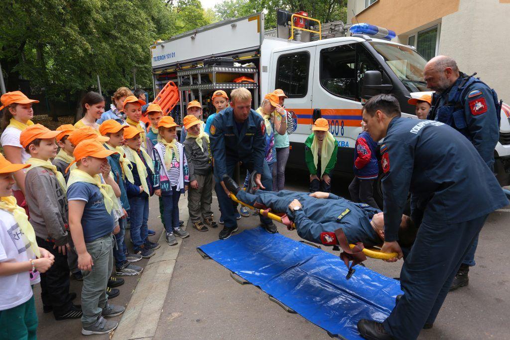 Центр поддержки семьи и детства «Зюзино» спасатели спасение человека