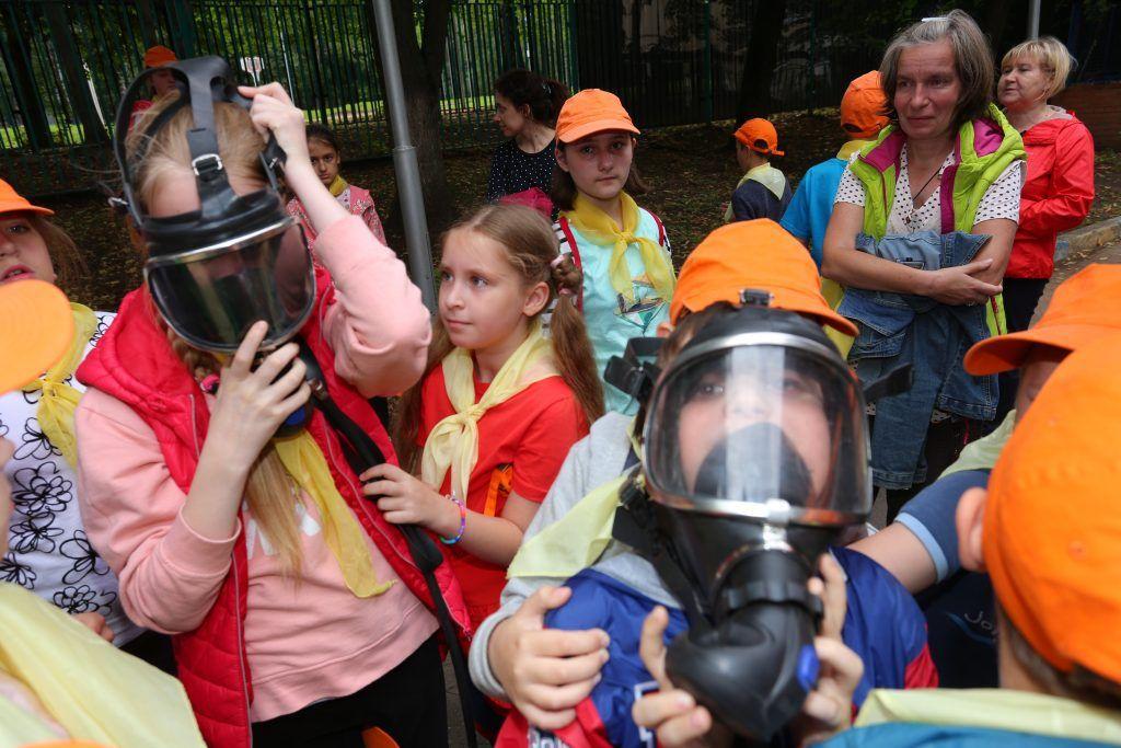 Центр поддержки семьи и детства «Зюзино» спасатели