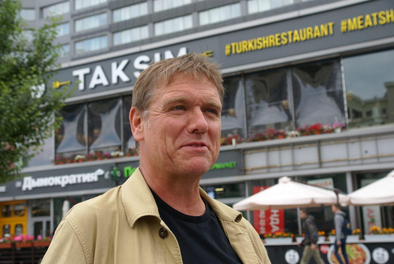 Энди Стеджен -председатель международного жюри «Цветочного Джема», британский ландшафтный архитектор