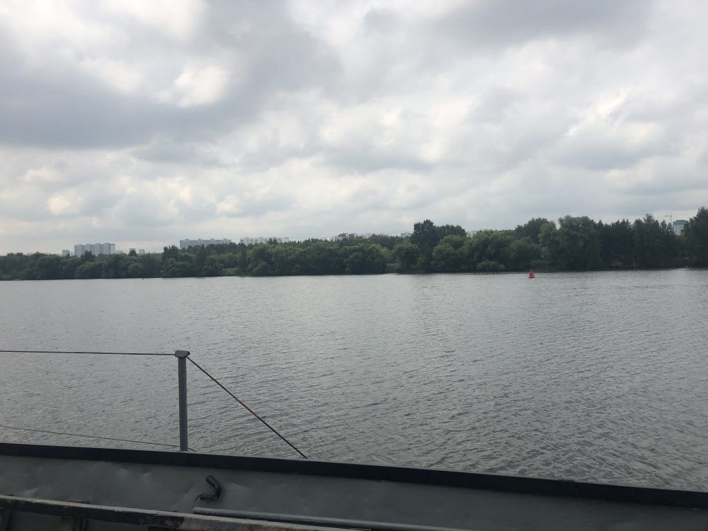 газопровод-дюкер «Щукинский» река