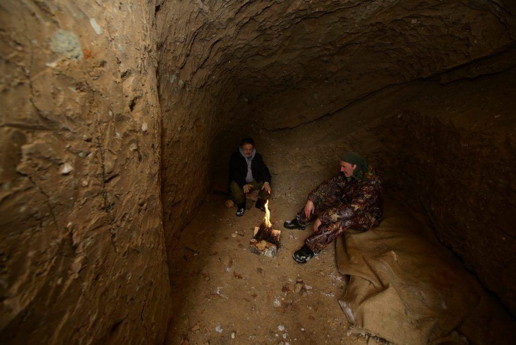 пещера лес спасение потерявшихся