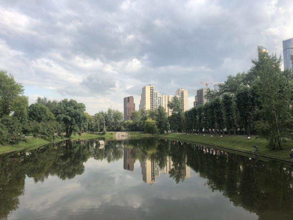 Красногвардейские пруды парк Красная Пресня